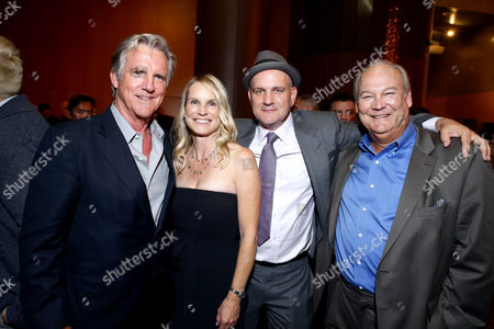 "Jamey Sheridan, Lisa O'Malley, Mike O'Malley and Brett Rice seen at the Los Angeles Industry Screening of Warner Bros. Pictures and Village Roadshow Pictures ""Sully"" at The DGA Theater, in Los Angeles"