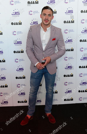 Kirk Norcross at JLS Foundation OJAM in aid of Cancer Research UK at Battersea Evolution in London on June 6th, 2013