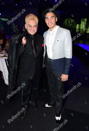 Prince Haji 'Abdul 'Azim of Brunei and Louis Smith attend the JLS Foundation OJAM in aid of Cancer Research UK at Battersea Evolution in London on June 6th, 2013