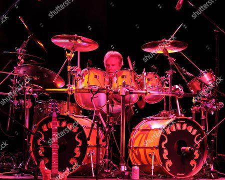 Phil Ehart of Kansas performs at the Magic City Casino on December 15, 2013 in Miami, Florida