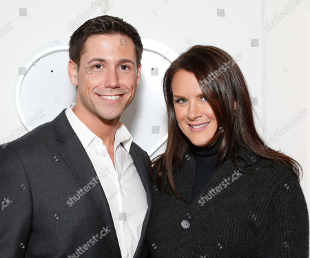 Zach Sale and The Art of Elysium Founder Jennifer Howell attend the LA Art Show hosted by Ali Larter and Hayes MacArthur Benefiting the Art of Elysium at the LA Convention Center, in Los Angeles