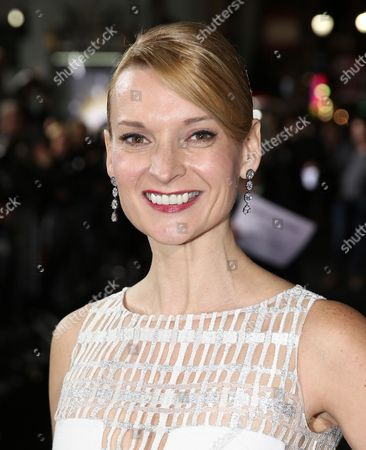 """Andrea Powell arrives at the Los Angeles premiere of """"Ender's Game"""" at TCL Chinese Theatre on"""