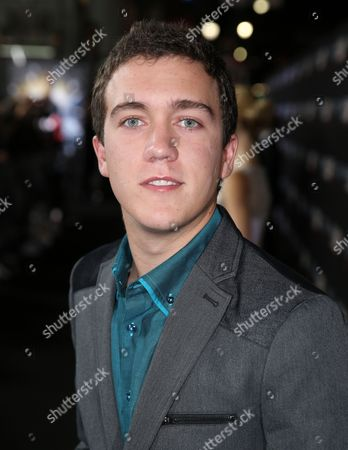 "Stock Image of Cameron Gaskins arrives at the Los Angeles premiere of ""Ender's Game"" at TCL Chinese Theatre on"