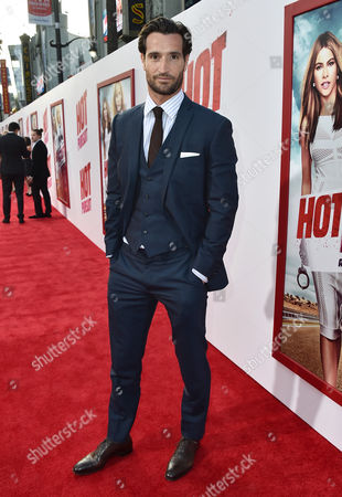 Matthew Del Negro arrives at the premiere of 'Hot Pursuit' at the TCL Chinese Theatre, in Los Angeles