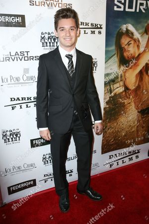 "Stock Picture of Ben Stillwell arrives at the LA Premiere of ""The Last Survivors"" at Westwood Crest Theater, in Los Angeles"