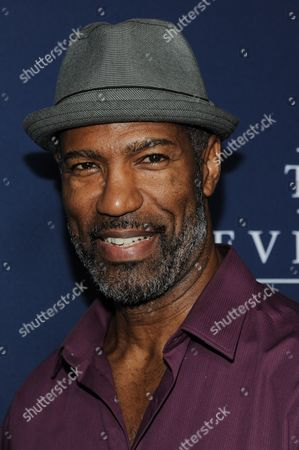 """Stock Picture of Ricco Ross arrives at the LA Premiere Of """"The Theory Of Everything"""", in Beverly Hills, Calif"""