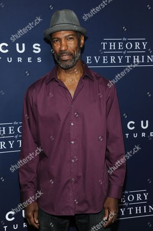 """Ricco Ross arrives at the LA Premiere Of """"The Theory Of Everything"""", in Beverly Hills, Calif"""