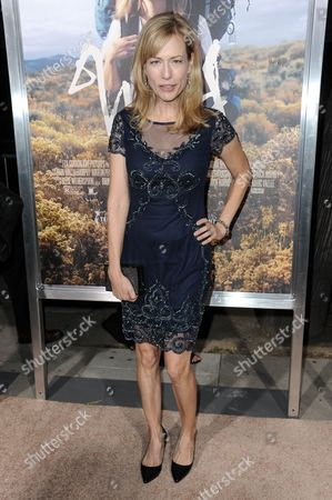 "Cathryn de Prume arrives at the LA Premiere Of ""WILD"", in Beverly Hills, Calif"