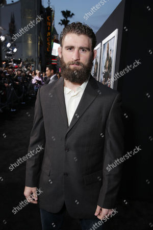 """Stock Photo of Brett Cooper at the LA Premiere of """"G.I. Joe: Retaliation"""" held at the TCL Chinese Theatre on in Los Angeles"""