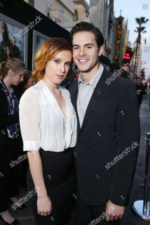 """Rumer Willis and Micah Alberti at the LA Premiere of """"G.I. Joe: Retaliation"""" held at the TCL Chinese Theatre on in Los Angeles"""