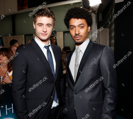 "Max Irons and Shawn Carter Peterson arrive at the LA premiere of ""The Host"" at the ArcLight Hollywood on in Los Angeles"