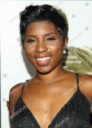 """Riqua Hailes arrives at the special screening of """"12 Years A Slave"""" at the Directors Guild of America on in West Hollywood, Calif"""