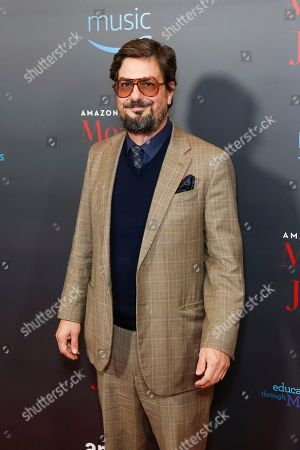 """Roman Coppola arrives at the LA Special Screening of """"Mozart in the Jungle"""" at The Grove, in Los Angeles"""