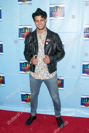 Stock Image of Asaf Goren arrives at the Let's Celebrate! District Wide Arts Festival held at The Academy of Motion Pictures Arts & Sciences, in Beverly Hills, Calif