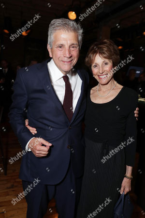 "Writer John Romano and Nancy Forbes Romano seen at Lionsgate's ""American Pastoral"" Premiere After Party at the 2016 International Film Festival, in Toronto"