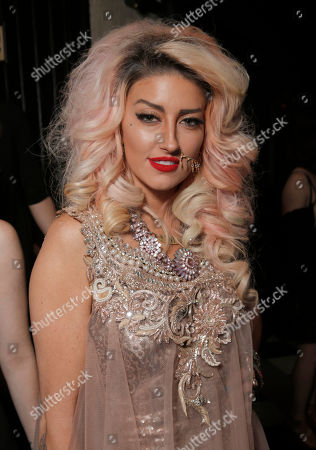 Stock Photo of Neon Hitch attends the after party for the premiere of 'Are You Here' Presented by Purity Vodka on in Hollywood, California