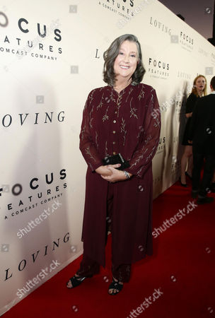 Sharon Blackwood seen at the Los Angeles Premiere of Focus Features' LOVING at the Samuel Goldwyn Theater, in Beverly Hills, Calif