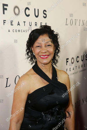 Winter-Lee Holland seen at the Los Angeles Premiere of Focus Features' LOVING at the Samuel Goldwyn Theater, in Beverly Hills, Calif