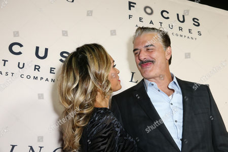 Tara Wilson and Chris Noth seen at the Los Angeles Premiere of Focus Features' LOVING at the Samuel Goldwyn Theater, in Beverly Hills, Calif