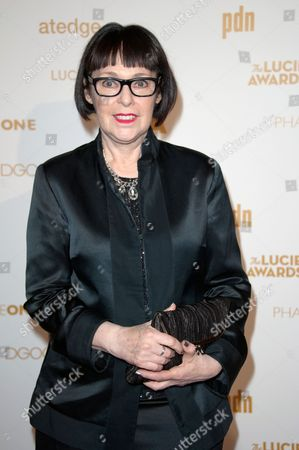 Stock Photo of Roxanne Lowit arrives at the Lucie Awards, in Beverly Hills, Calif