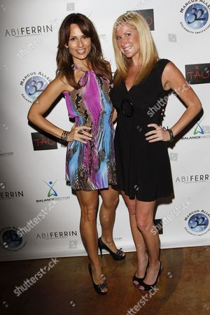 Patricia Kara and Jen Groover attend Marcus Allen Foundation 2013 Celebrity Invitational Poker Tournament on Sunday, June 2nd, 2013 at Lucky Strike Hollywood in Los Angeles, California