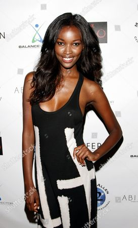 L-R) Fashion model Tia Shipman attends Marcus Allen Foundation 2013 Celebrity Invitational Poker Tournament on Sunday, June 2nd, 2013 at Lucky Strike Hollywood in Los Angeles, California