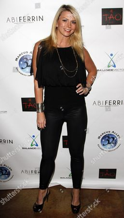 Stock Picture of Actress Tamie Sheffield attends Marcus Allen Foundation 2013 Celebrity Invitational Poker Tournament on Sunday, June 2nd, 2013 at Lucky Strike Hollywood in Los Angeles, California