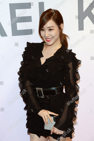 Tiffany Hwang attends the Miranda Eyewear Collection launch event, hosted by Michael Kors at his SoHo Flagship store,, in New York
