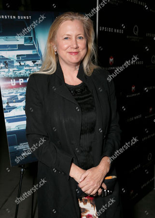 Laura Bickford attends Millennium Entertainment's Upside Down Los Angeles Premiere hosted by Quintessentially at Arclight Hollywood on in Los Angeles