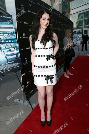 Editorial image of Millennium Entertainment's Upside Down Premiere - Red Carpet, Los Angeles, USA
