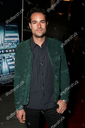 Stock Image of Andrea Boccaletti attends Millennium Entertainment's Upside Down Los Angeles Premiere hosted by Quintessentially at Arclight Hollywood on in Los Angeles
