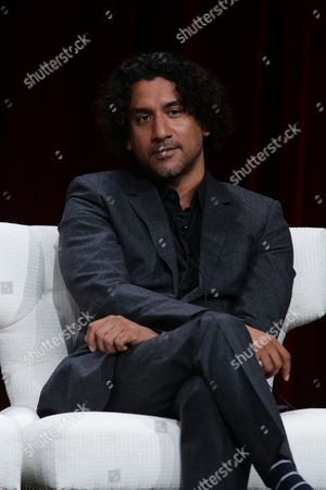 Naveen Andrews seen at Netflix 2015 Summer TCA at the Beverly Hilton Hotel, in Beverly Hills, CA