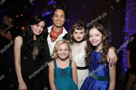 Hayley McFarland, Shannon Kook, Kyla Deaver, Joey King and Mackenzie Foy seen at New Line Cinema's 'The Conjuring' Premiere, on Monday, July, 15, 2013 in Los Angeles
