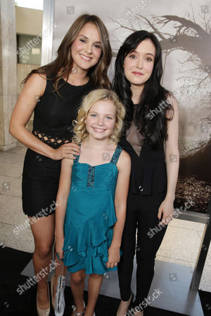 Shanley Caswell, Kyla Deaver and Hayley McFarland seen at New Line Cinema's 'The Conjuring' Premiere, on Monday, July, 15, 2013 in Los Angeles
