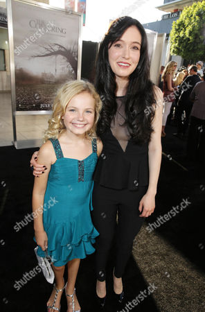 Kyla Deaver and Hayley McFarland seen at New Line Cinema's 'The Conjuring' Premiere, on Monday, July, 15, 2013 in Los Angeles