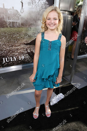 Kyla Deaver seen at New Line Cinema's 'The Conjuring' Premiere, on Monday, July, 15, 2013 in Los Angeles