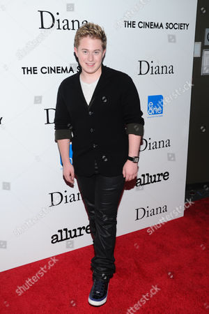 "Actor Reed Alexander attends the premiere of ""Diana"" hosted by The Cinema Society, Linda Wells and Allure Magazine at the SVA Theater on in New York"
