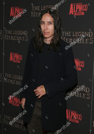 """Director Voula Duval attends a screening of """"The Legend of Hercules"""", in New York"""