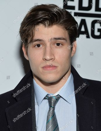 "Cameron Cuffe attends a special screening of ""Eddie the Eagle"" at the Landmark Sunshine Cinema, in New York"