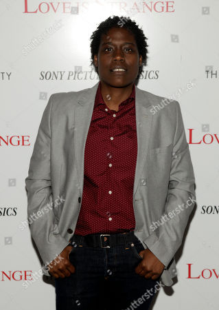 "Stock Picture of Actress Tank Burt attends a screening of ""Love Is Strange"" on in New York"