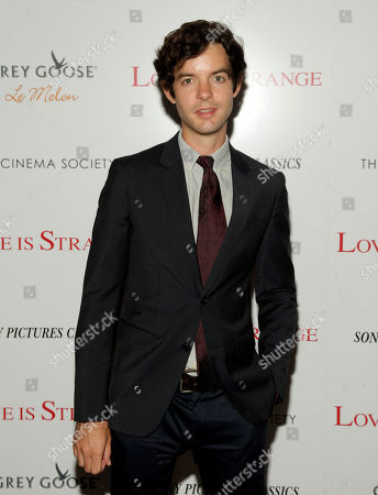 "Producer Lucas Joaquin attends a screening of ""Love Is Strange"" on in New York"