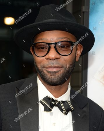 """Nelsan Ellis attends the world premiere of """"Get On Up"""" at the Apollo Theater, in New York"""