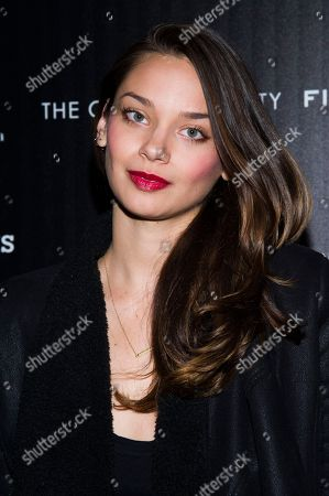 """Michelle Vawer attends a screening of FilmDistrict's """"Olympus Has Fallen"""" hosted by the Cinema Society with Roger Dubuis and Grey Goose on in New York"""