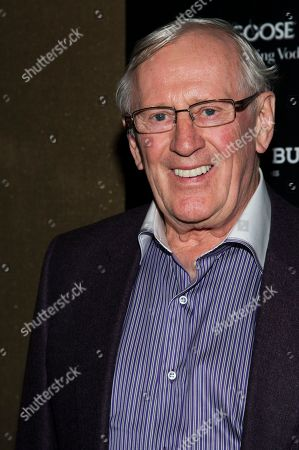 """Len Cariou attends a screening of FilmDistrict's """"Olympus Has Fallen"""" hosted by the Cinema Society with Roger Dubuis and Grey Goose on in New York"""