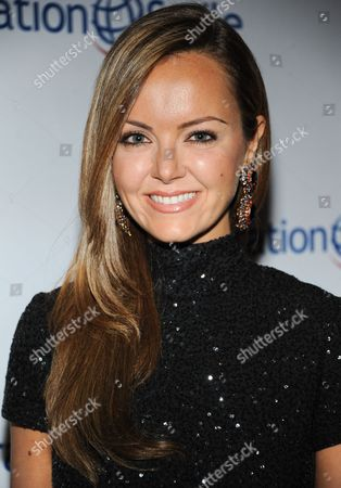 Nicole Lapin arrives at Operation Smile's 2013 Smile Gala at The Beverly Wilshire Hotel on in Beverly Hills, Calif
