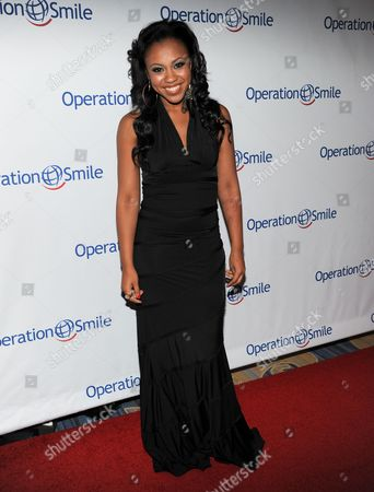 Sasha Allen attends Operation Smile's 2013 Smile Gala at The Beverly Wilshire Hotel on in Beverly Hills, Calif