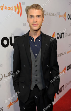 Shane Bitney Crone arrives at OUT Magazine's 20th Anniversary Party presented by Lexus at Station at W Hotel on in Los Angeles