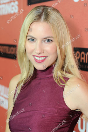 "Laura Ramsey arrives at Pantelion Films' ""Pulling Strings"" Los Angeles premiere at Regal Cinemas L.A. Live on in Los Angeles"