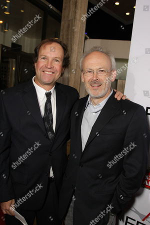NOVEMBER 09: Screenwriter Clay Frohman and Producer Pieter Jan Brugge at Paramount Vantage Premiere of 'Defiance' at the 2008 AFI Fest Closing Night Gala on at the Cinerama Dome in Hollywood, CA