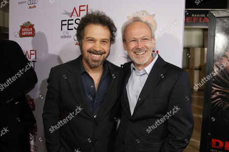 NOVEMBER 09: Producer/Director/Writer Ed Zwick and Producer Pieter Jan Brugge at Paramount Vantage Premiere of 'Defiance' at the 2008 AFI Fest Closing Night Gala on at the Cinerama Dome in Hollywood, CA